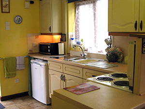 Puddleduck Self-Catering Holiday Cottage - kitchen