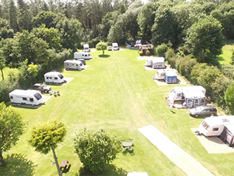 Poppyland - adult only, dog friendly, touring caravan park, North Norfolk