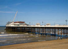 Cromer Pier - 4 miles from Poppyland Touring Park