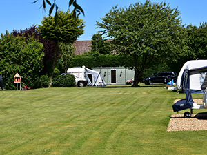 Adults only, dog friendly, caravan touring park